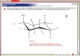 Chair Conformations Of Cyclohexane by Given Cyclohexane In A Chair Conformation Substit Chegg Com