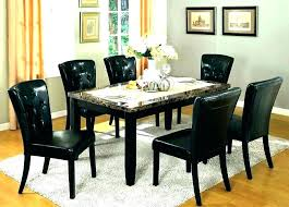 Round Granite Top Dining Table Set Room For 8 Base