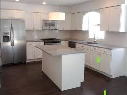 Grey Kitchen With White Cabinets Kitchen Cabinets Off White