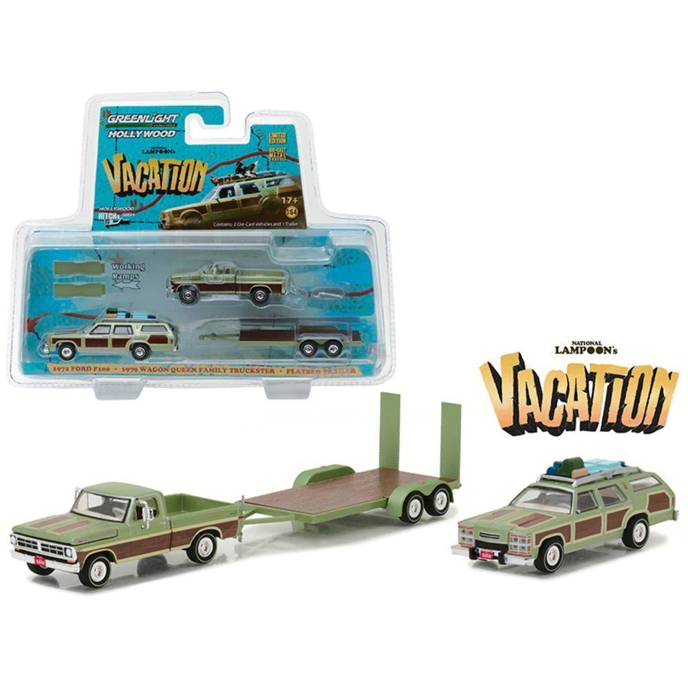 Hollywood Hitch & Tow Series 4 Set of 3 1/64 Diecast by Greenlight 31040-a-b-c