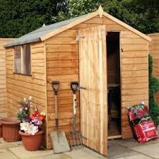 6 X 5 Apex Shed by Avon 6 U0027 X 8 U0027 Double Door Overlap Apex Shed Sheds
