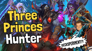 Hunter Hearthstone Deck Kft by Three Princes Hunter Decksperiment Hearthstone Youtube