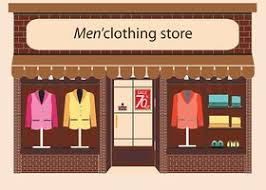 Clothing Store Stock Vectors