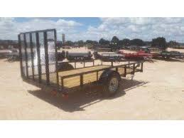 2017 Load Trail 77x 12 Single Axle Landscape Trailer
