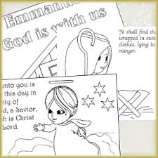 Coloring Pages For The Nativity