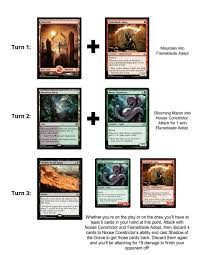 Mtg Red White Deck Modern by Brewing Amonkhet