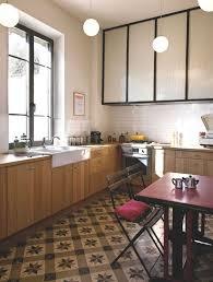 cuisine style retro enchanteur cuisine style bistrot avec cuisine meuble retro