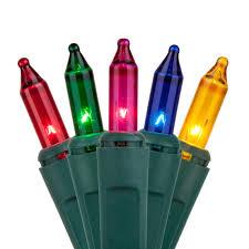 Green Mini Fibre Optic Christmas Tree by Christmas Bulb Lights Christmas Lights Decoration