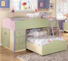 Signature Design by Ashley Doll House Twin Loft Bed with Built in