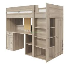 Gami Largo Loft Beds for Teens Canada with Desk & Closet