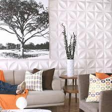 Chrysalis Pattern Design 3D Glue On Wall Panel Wall Flats
