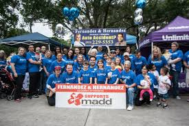 100 Truck Accident Attorney Tampa Team Fernandez Hernandez Team For MADD Walk FL Fernandez