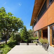 100 Modern Wooden House Design Veranda Of A Wooden House Modern Design