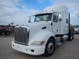 USED 2013 PETERBILT 386 TANDEM AXLE SLEEPER FOR SALE IN TX #2735