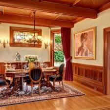 Victorian Dining Room With Wainscoting