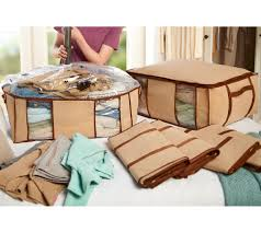 Qvc Christmas Tree Storage Bag by Superpack 6 Jumbo Totes W Compression Bags Plus 2 Bag Bonus