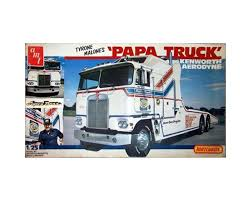 AMT Tyrone Malone Kenworth Transporter Papa Truck [AMT932] | Toys ...