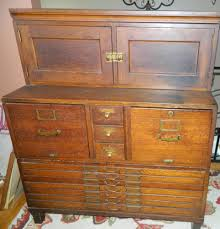 library bureau antique oak library bureau sole makers 16 drawer flat file