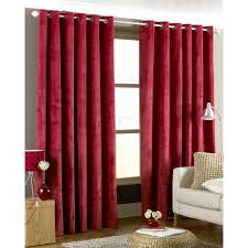 Lush Decor Velvet Curtains by Black And Red Curtains Plaid Vintage Cotton Fabric Black Red