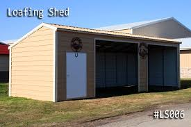 loafing shed kits oklahoma metal loafing sheds for horses for sale