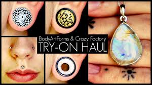 BodyArtForms & Crazy Factory TRY-ON HAUL!!! Bodyartforms Haul Reveal Unboxing Sharing Whatever You Call It Discount Coupons For Dorney Park Pi Hut Paytm Free Recharge Coupon Code 2018 Amzon Promo Best Whosale All Over Piercings Honda Pilot Lease Deals Nj Body Foreplay Coupons Ritz Crackers Tracking Alpine Adventures Zipline Bj Membership Tractor Supply Policy Scream Zone Hot Ami Styles Buy Appliances Clearance Guild Wars 2 Jcj Home Perfect