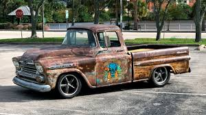 1959 Chevrolet Apache Pickup | K152 | Kissimmee 2018 1959 Chevy Apache Pickup 1958 Chevrolet Lowrider Magazine For Sale On Classiccarscom Fleetside Wheels Boutique Capt Hays American Soldier Truckin Classics Autotrader Truck Specs Review And Pictures Collection 3100 Truck Retro Wallpaper Bangshiftcom 3600 1961 Hot Rod Network Hemmings Motor News