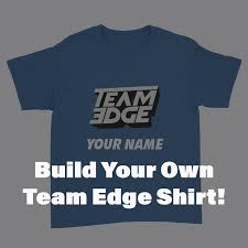 Team Edge - Build Your Own - Unisex T-Shirt – Crowdmade Sewing Tutorials Crafts Diy Handmade Shannon Sews Blog For Clothes 5 Tshirt Cutting Ideas And Make Your Own Shirts At Home Best Shirt 2017 With Picture Of 25 To Try On Old Outfits For New 100 How Design Hoodie 53 Diy Ugly T Pictures Wikihow Classic House Superstore Merchandise Official Nbc Store Contemporary T Shirt Cutting Ideas On Pinterest