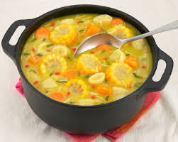 Haitian Pumpkin Soup Vegetarian by Corn Soup Keep Calm I Am From Trinidad And Tobago Pinterest
