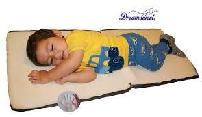 Kid Toddler Sleeping Mat Memory Foam Cushion 4 School Nap Times by