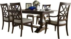 Klaussner Trisha Yearwood Table 4 Side 2 Arm Chairs