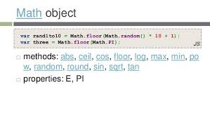Javascript Math Ceil Floor by An Introduction To Javascript