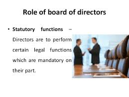Role of board of directors corporate management Strategic Manag…