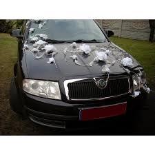 décoration voiture kit bouquet de la mariee