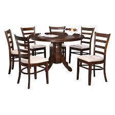 100 Fritz 5 Round 6 Seater Dining Set