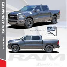 RAM HASH MARKS : 2019-2020 Dodge Ram Hood Hash Marks Stripes Decals ... Dodge Ram Truck Fender Bars Hash Mark Racing Sport Stripes Decals 092018 Power Wagon Decal Hood Rear Side Strobes Product 2 Dodge Ram Power Wagon Truck Vinyl Stickers Window Sticker Chevy Bowtie Ford Jeep Car Amazoncom Sticker Compatible With Hemi Tribal Rt 1500 Hemi Bed Vinyl Decal Styling For 3x Hood Fender Decals 2500 Kryptek 4x4 Off Road Quarter Panel Cmyk Grafix Store Viper Srt10 Faded Rocker Stripe Tailgate Decal Mopar Trucks Stickers Dakota Truck Bed Side Decals Graphics Power