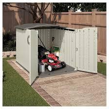 elegant suncast glidetop storage shed 26 with additional