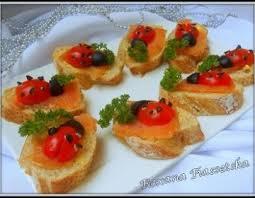 canapé apéritif facile recette noel repas fête canapes truite saumon fumée apéritif