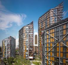 100 Neo Bank Side NEO Side Rogers Stirk Harbour Partners ArchDaily