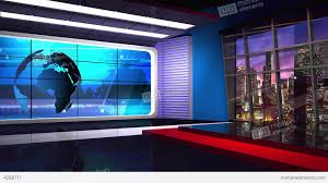News TV Studio Set 36