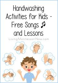 Handwashing Activities For Kids Free Songs And Lessons