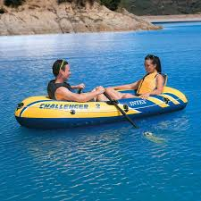 Intex Inflatable Sofa Uk by Intex Challenger 2 Boat Set Charlies Direct