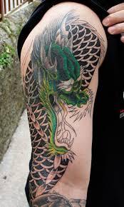 Sleeve Tattoo Designs Tribal Japanese And Dragon Tattoos Around