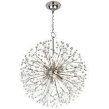 chandelier by hudson valley lighting 6020 pn