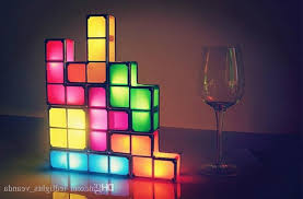 tetris stackable led desk l the green head pertaining to new