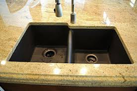 Drop In Bathroom Sink With Granite Countertop by The Best Sinks For Granite Countertops