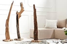 naturbelassene skulptur reef 100 125cm aus treibholz holz accessoire riess ambiente de