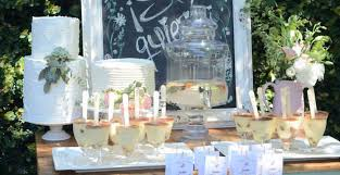 Karas Party Ideas Rustic Chic Bridal Shower