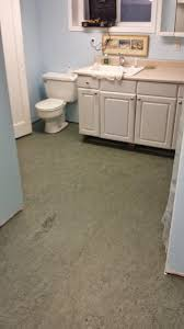 West Seattle Bathroom Installed With Marmoleum Discontinued