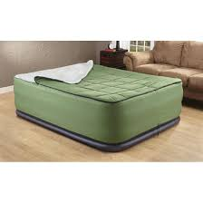 Intex Pull Out Sofa Air Bed Green by Intex Queen Air Bed Mattress With Built In Electric Pump 115699