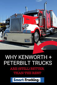 Why Kenworth And Peterbilt Trucks Are (Still) Better Than The Rest